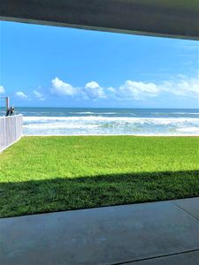 Direct ocean front view from back porch