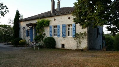 Photo for Large Farmhouse in the Quercy Square 6bdrm (15p) Swimming pool Tennis Quiet guaranteed.