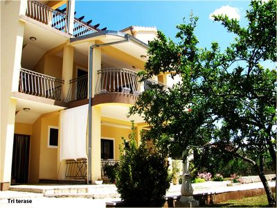 Photo for Apartment in Tribunj (Vodice), capacity 6+1