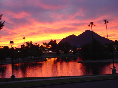 Photo for CENTER OF SCOTTSDALE WITH LAKE AND PARK VIEW