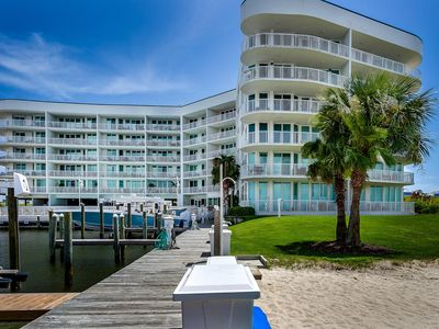 Photo for 4 BR Condo @ The Pass! Boater & Fishermans Dream!
