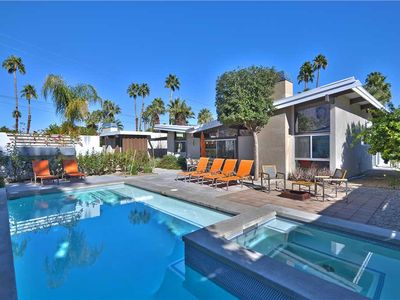Photo for Private MidCentury Home + Mountain Views + Walk to Restaurants & Shops