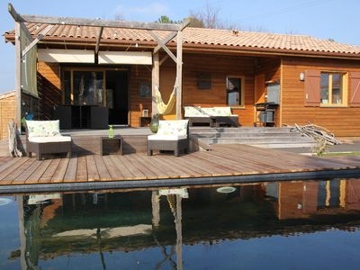 Photo for Charming villa near the beaches-heated pool, terrace, garden, wifi, bicycles