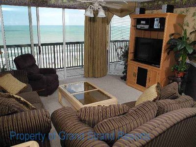 Photo for Great, Ocean front 3BR Ashworth- Ocean Drive section; family friendly; Click Book it for rate
