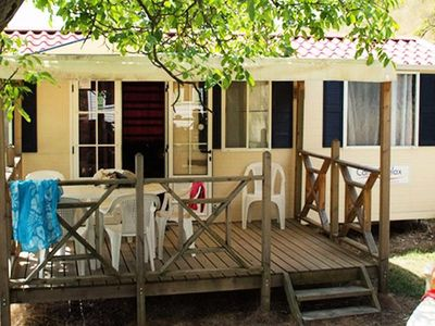 Photo for Camping Le Lac Bleu - Cottage Residence 3 Rooms 4 Persons