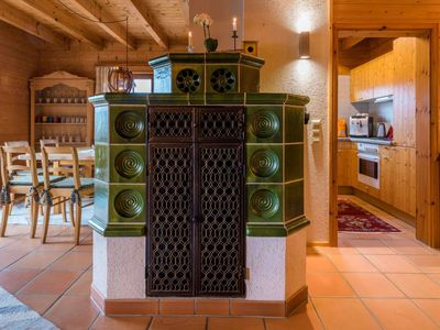 Wooden House on 160m² - open galery, fireoven, jacuzzi, WLAN, BBQ, baclcony & terrace