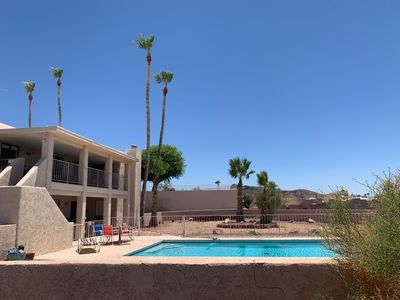 """Photo for Cleanliness! """"The Rich and Famous"""" Large 2 story Lake view, Sparkling Pool, Spa,"""