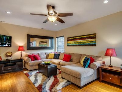 Photo for HOUSE OF COLORS: 4 MILES FROM DOWNTOWN & MAJOR ATTRACTIONS