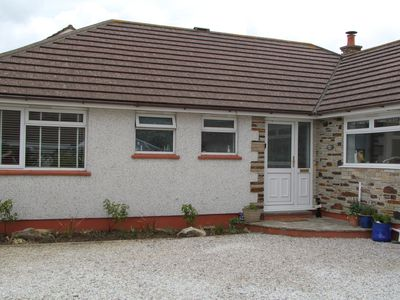 Photo for Dog friendly bungalow in cul de sac, short walk to St Merryn village centre