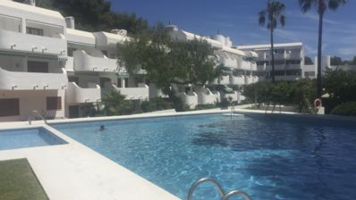 Photo for Ground Floor 1 Bedroom apartment in Las Fuentes 250 meters to beach