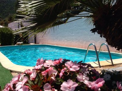 Photo for relax and comfort with wonderful swimming pool, garden and internet no limits