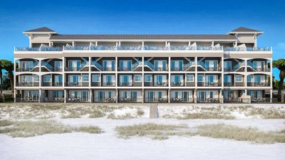 Photo for Brand New Gulf Front Townhouse with Rooftop Deck & Pool, Theater!