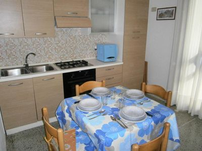 Photo for Nice apartment 30mt from Caorle beach - Beach place included