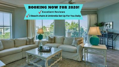 Photo for Kick Back and Relax in Blue Mountain Beach on 30A