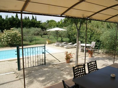 Photo for Detached air-conditioned house, private pool in olive grove of 2000 sqm