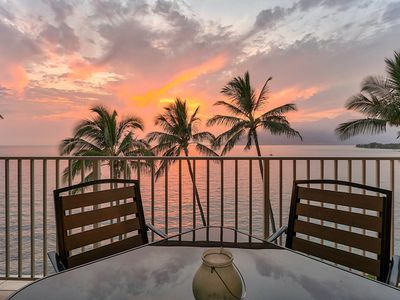 Photo for Look no further, Best Location, Complete Ocean View Situated on Kamaole Beach