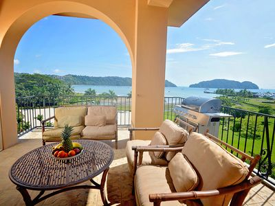 Photo for Best Location at the resort, Amazing Ocean View + Beach Club and amenities.
