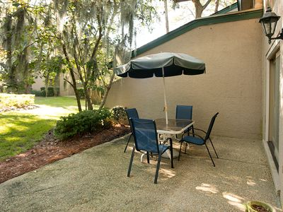 Photo for Harbour Town villa w/ courtyard view, shared pool - close to shops & restaurants