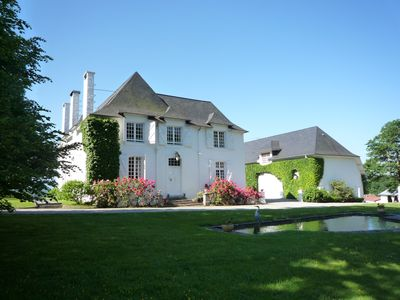 Photo for Manor House Apartment situated within 18th Century Manor House + Pool, PAU