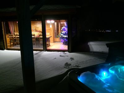 Photo for Chalet in Xonrupt 15 people very cozy with SPA, Sauna, Cinema Room