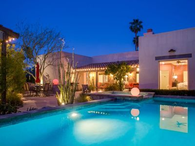 Photo for Luxury Home in Palm Springs Area; Very Private; Rancho Mirage STR # 20173.