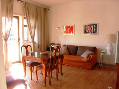 Photo for Rome, comfortable apartment with parking, swimming pool and tennis court