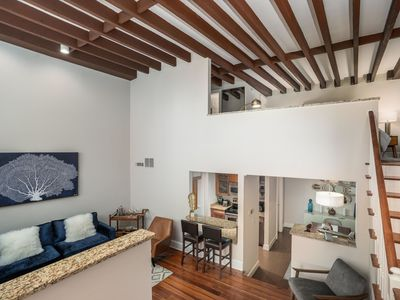 Photo for Contemporary 1-Bedroom Loft in Historic Downtown Charleston + Free Parking!