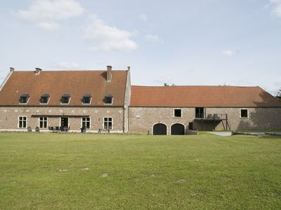 Photo for Apartment 7 people between Brussels and Liege with swimming pool (season)