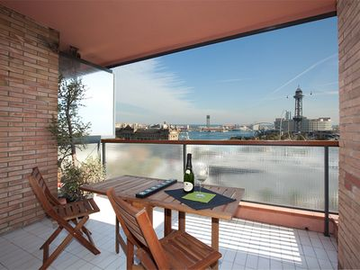 Photo for Apartment City Centre Barcelona in front of the Columbus statue & sea  port vell