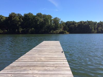 Photo for Year-round Tranquil Lake front property- 3bedrooms, 2 baths