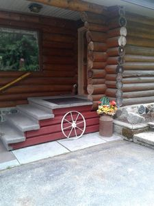 Photo for Rogers Creek Retreat Ltd. #1 Private Log Cabin