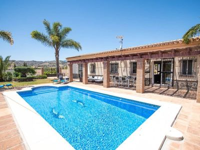 Photo for FINCA EL RETIRO, SPECTACULAR VILLA WITH POOL, GARDEN, BBC, WI-FI AND AIR ACOND;