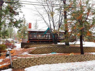 Photo for Village Hideaway: Walk to the Village! Outdoor Hot Tub! Internet! Gas Barbecue!