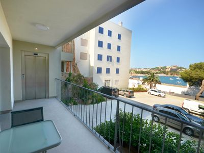 Photo for BEACHFRONT APARTMENT, TWO TERRACES AND PARKING Wonderful apartment with front view