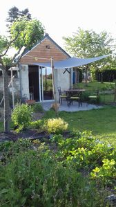 Photo for Modern and independent family garden room.