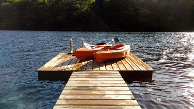 Dock - Spend fun-filled days on the water.