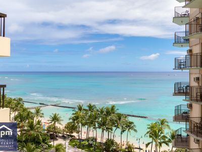 Photo for Waikiki Beach Tower- Luxury prime Location with FREE PARKING