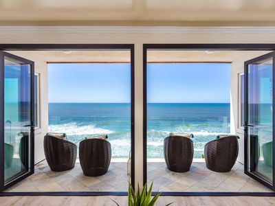 Photo for Charming Romantic Oceanfront Rental Designer Decorated & A/C Equipped