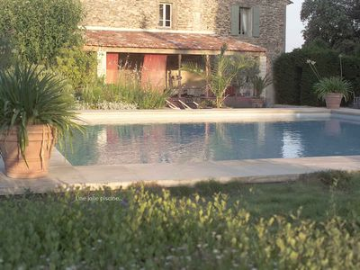 Photo for House with character in the middle of the vineyards with heated pool