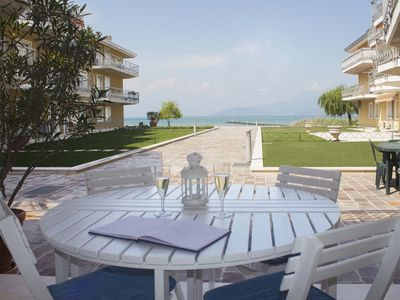 Photo for 1BR Apartment Vacation Rental in Sirmione