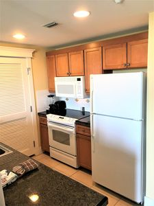 Kitchen complete with all appliances & utensils you'll need for the perfect meal