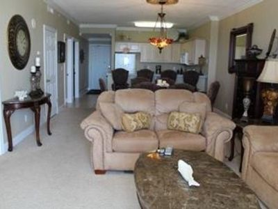Photo for 2 BR / 2 BA beach front condo, Sleeps 6, Great onsite amenities