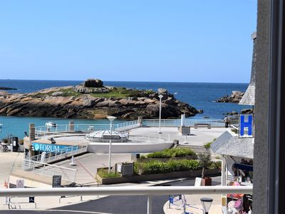 Photo for Beautiful apartment beautifull sea view with free WIFI in TREGASTEL