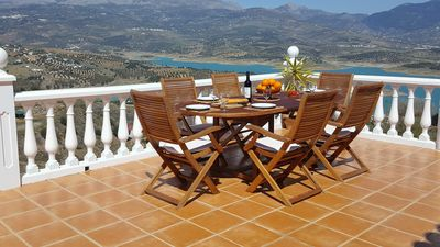 Photo for Casa Juan Luxury Villa overlooking Lake Vinuela