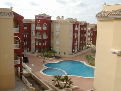 Photo for 2 Bedroom Penthouse Apartment In Relaxed Los Alcazares