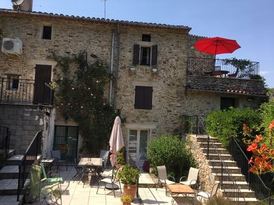 Photo for Two bedroom luxury apartment in Catalan Stone Farmhouse