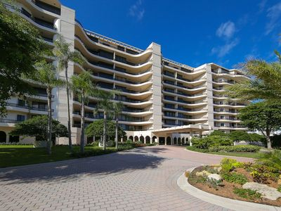 Photo for Luxurious 2 bedroom 2 bath condo at L'Ambiance directly on Longboat Key Beach!