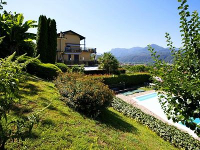 Photo for Apartment with large terrace and garden in a residence with pool