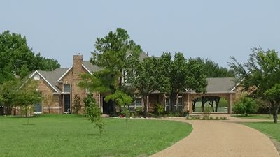 Photo for Large Home (4100+ sq ft) Set On 25 Acres In Rockwall County (sleeps 11)
