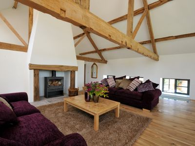 Photo for Luxury Barn Conversion sleeps 11 in idyllic Herefordshire countryside